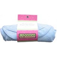 Blue Bone Shaped Spa Towel